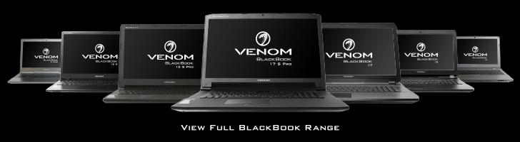 Venom BlackBook Range
