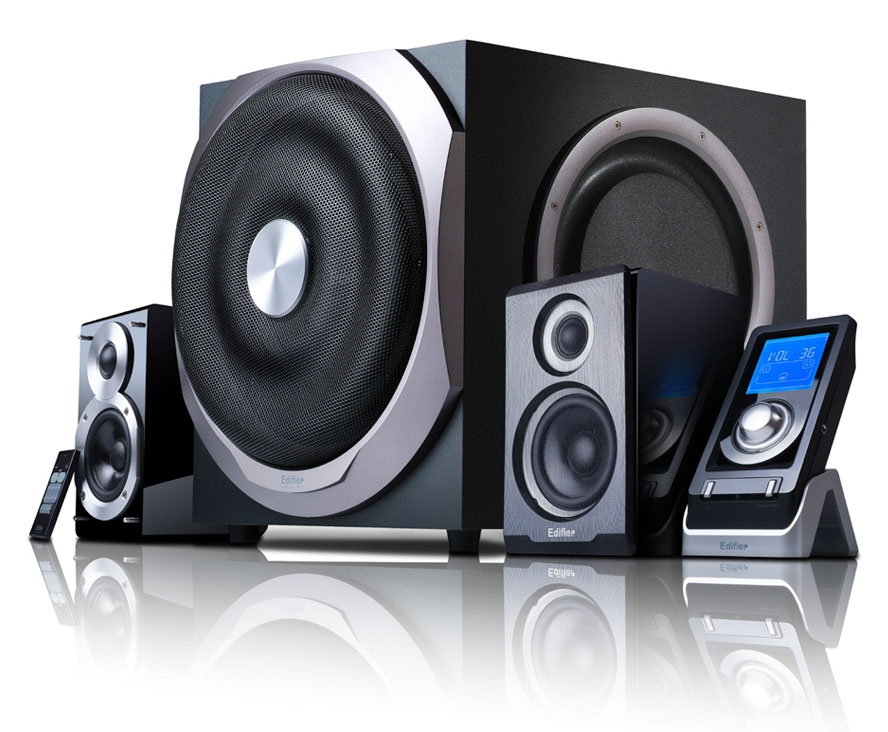 Edifier S730 2 1 Speaker System With 10 Quot Subwoofer