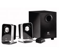 Logitech LS21 2.1 Stereo Speaker System Image