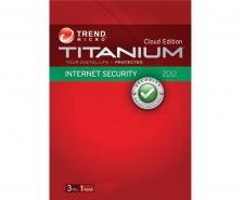 Trend Micro Titanium Internet Security 2012 - 3 PCs (Automatically Updates to 2013)