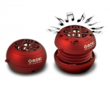 Moshi BassBurger Pocket Speakers - Red