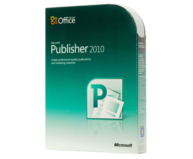 Microsoft Office Publisher 2010 Edition