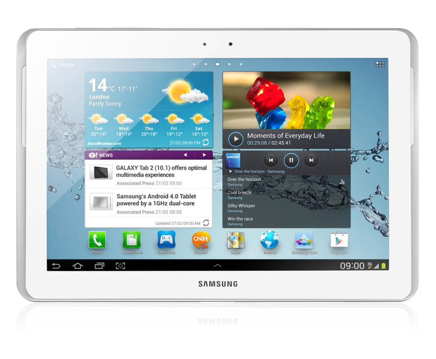 samsung galaxy tab 2 10 1 64gb 32gb 32gb wifi tablet white. Black Bedroom Furniture Sets. Home Design Ideas