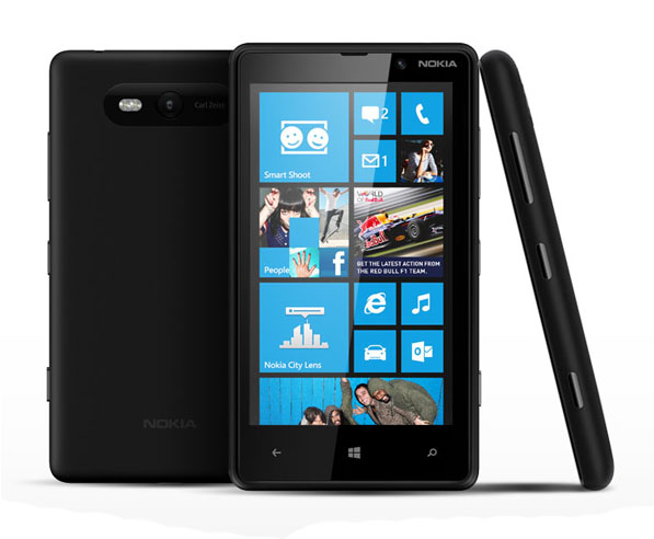 Nokia Lumia 820 Black Unlocked Certified Australian Stock