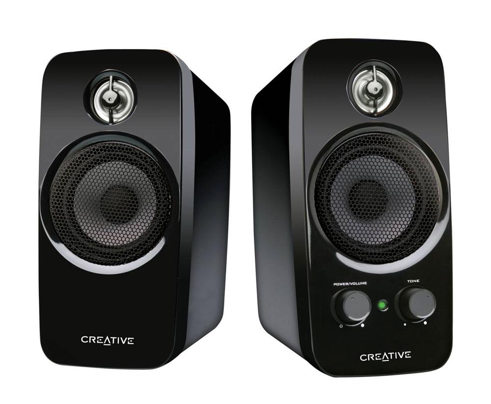 Creative Inspire T10 2 0 Desktop Speakers Image