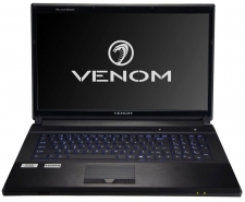 Venom BlackBook 17 (B0220) Performance Notebook - Bonus Civilization V Game
