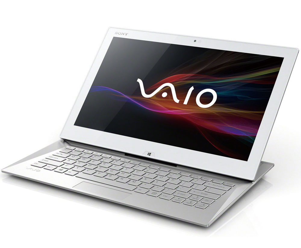 Sony vaio duo 13 svd13211cgw white for Notebook tablet