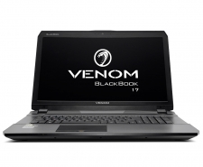 Venom BlackBook 17 (W12710) with GTX 970M G-SYNC Midnight Edition Image