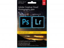Adobe Creative Cloud Photography Plan - Student and Teacher Edition