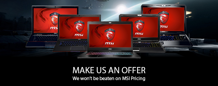MSI Range - Make Us An Offer