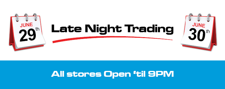 Late Night Trading Hours