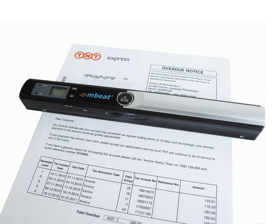 Document And Scanner A4 Portable Image Mbeat