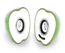 Laser Apple Shaped Notebook Speakers