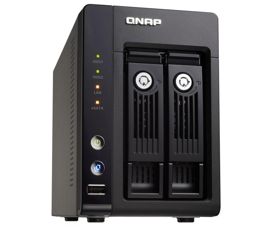 QNAP TS-239 Pro II+ Turbo NAS 2-Bay