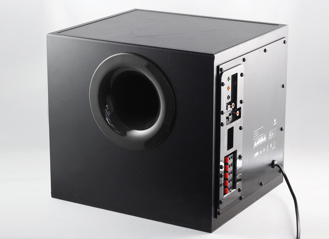 logitech z906 thx certified 5 1 speaker system 500watts rms. Black Bedroom Furniture Sets. Home Design Ideas