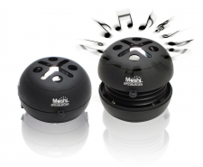 Moshi BassBurger Pocket Speakers - Black Image