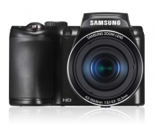 Samsung WB100 16.2MP Smart Camera Black