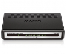 D-Link 8-Port Gigabit Desktop Switch - DGS-1008A Image