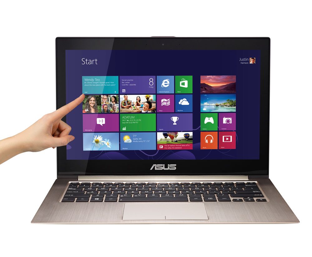 Asus Zenbook Prime Touch Screen Ultrabook Ux31a C4043p