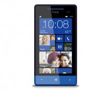HTC Windows Phone 8S (Blue) Telstra pre-paid phone Image