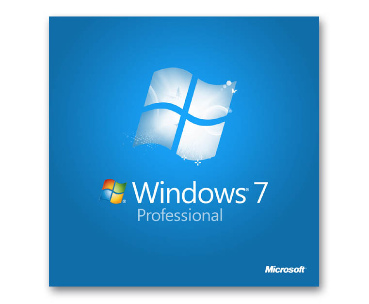 Microsoft windows 7 professional downgrade installation on for Window 7 professional