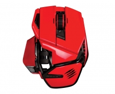 Saitek Mad Catz Cyborg M.O.U.S. 9 Wireless Gaming Mouse (Red) Image