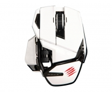 Saitek Mad Catz Cyborg M.O.U.S. 9 Wireless Gaming Mouse (White) Image