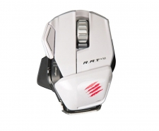 Saitek Mad Catz Cyborg R.A.T. M Wireless Gaming Mouse (White) Image