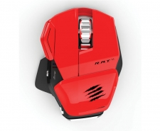 Saitek Mad Catz Cyborg R.A.T. M Wireless Gaming Mouse (Red)