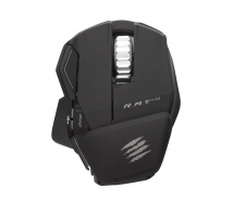 Saitek Mad Catz Cyborg R.A.T. M Wireless Gaming Mouse (Matte Black) Image