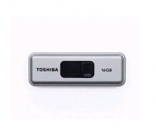 Toshiba 16GB Retractable USB 3.0 Flash Drive with Password Protection Software