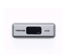 Toshiba 64GB Retractable USB 3.0 Flash Drive with Password Protection Software