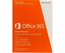 Microsoft Office 365 Home Premium - 5 PCs or Macs Image