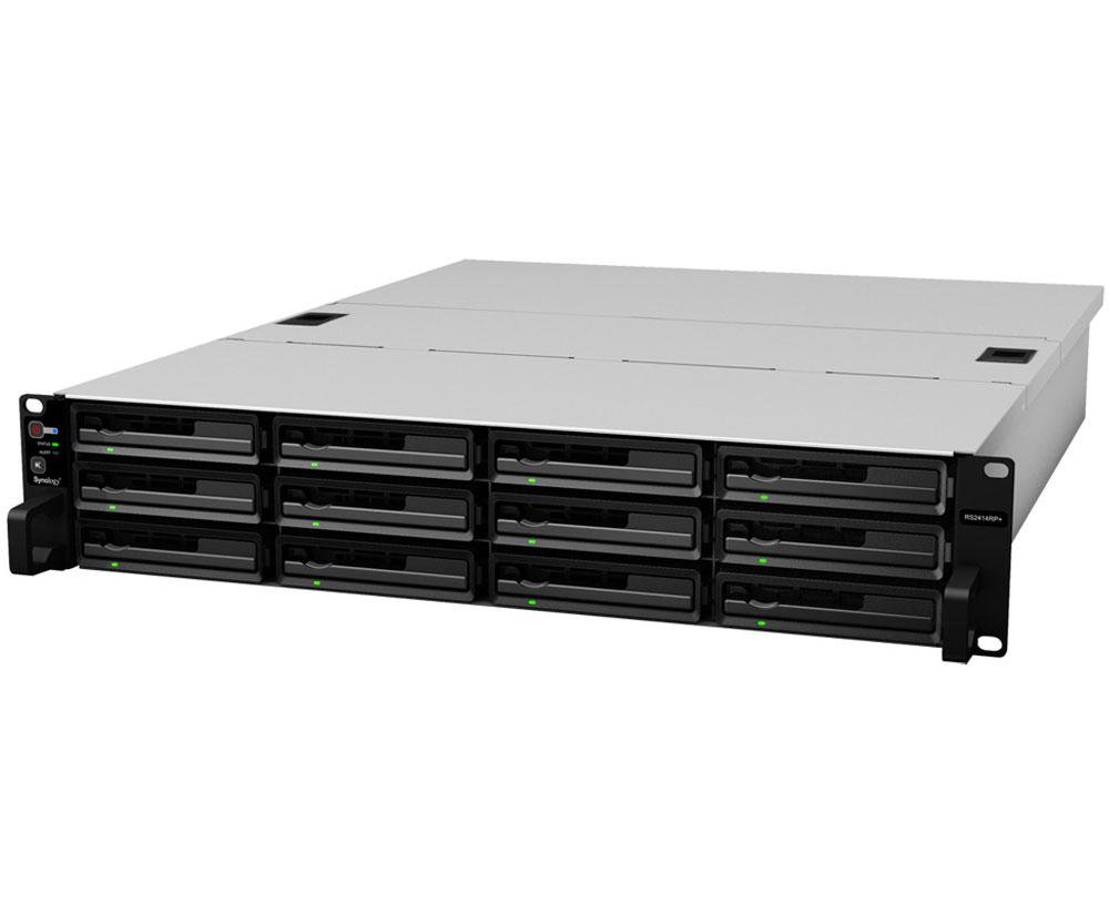 Synology RackStation RS2414+ 12-Bay 3.5  Diskless GbE NAS (2U Rack)(Scalable) (SMB)  sc 1 st  MLN & Synology RackStation RS2414+ 12-Bay 3.5