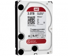 WD 3TB RED NAS Compatible Hard Drives - WD30EFRX