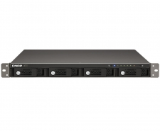 QNAP TurboNAS TS-420U 4-Bay Rackmount NAS (1.6Ghz CPU, Dual LAN) Image
