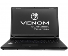 Venom BlackBook 17 Workstation (G01705) with Quardo K3100M