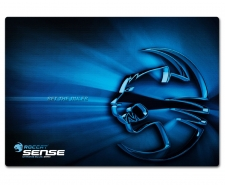 ROCCAT Sense Chrome Softpad Fiber Coated Gaming Mousepad 400 x 280 x 2mm Image