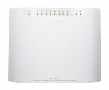 D-Link Dual Band Wireless N750 Gigabit ADSL2+ Modem Router - DSL-2870B Image