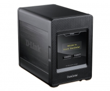 D-Link ShareCenter 4-Bay Network Storage Enclosure - DNS-345 Image
