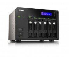 QNAP TS-669 Pro High-performance 6-bay NAS server for SMBs Image