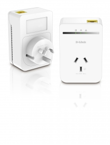 D-Link PowerLine AV500 (500Mbps) Pass-through Adapter Starter Kit-DHP-P309AV