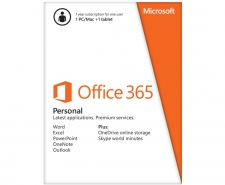 Microsoft Office 365 Personal - 1 PC or Mac + 1 tablet Image