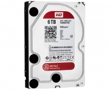 WD 6TB RED NAS Compatible Hard Drives - WD60EFRX Image