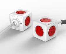 Allocacoc PowerCube Extended - 5 Power Outlets Image