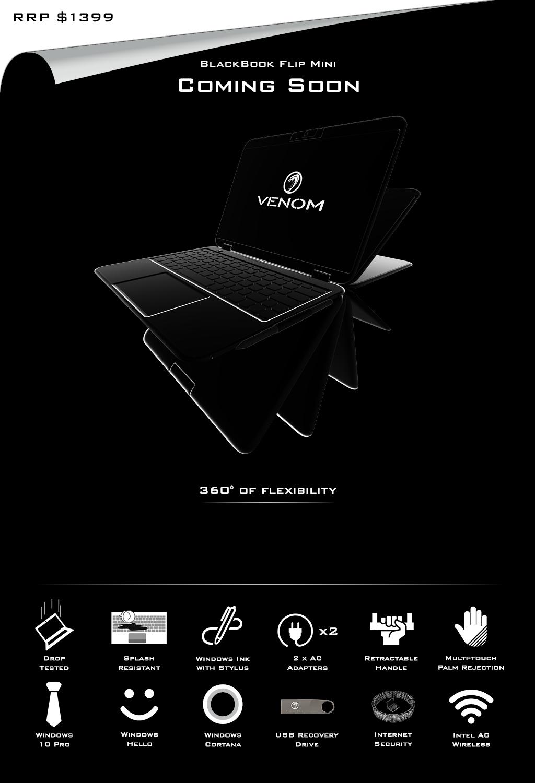 Venom BlackBook Flip Mini 11 - Coming Soon Price Reveal