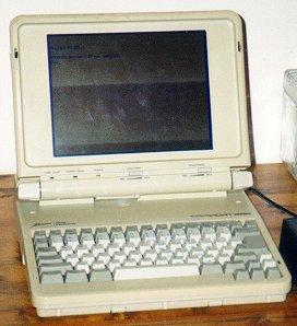 Laptop History - First Laptops and Notebooks Viewable at MLN