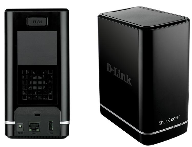 D Link Sharecenter 2 Bay Cloud Network Storage Enclosure