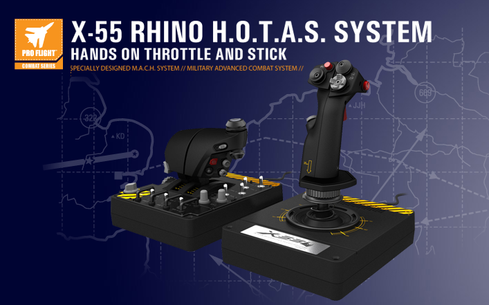 Saitek X 55 Rhino H O T A S Hands On Throttle And Stick