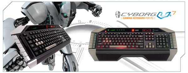 Bàn phím Cyborg V. 7 Gaming Keyboard